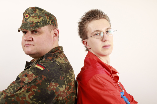 Zukunft nach dem Abitur: Bundeswehr oder Zivildienst?